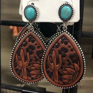 Weastern Earrings